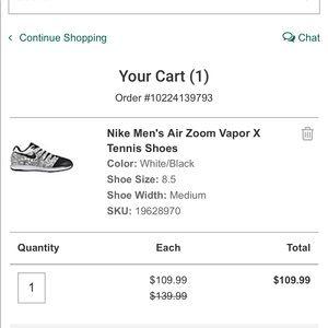 Nike Men's Air Zoom Vapor X